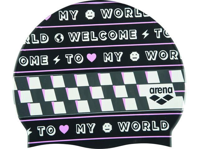 arena Print 2 Gorra, welcome black